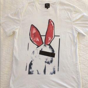 Alexander McQueen Rabbit T Shirt
